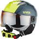 UVEX Junior Visor Pro Helmet Titanium-Lime